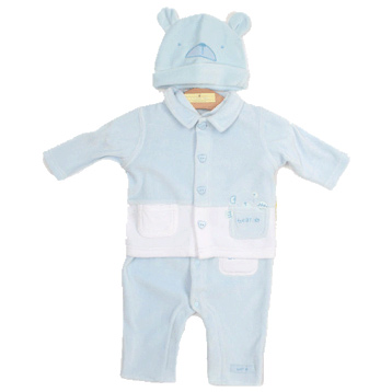 Boys 3 Piece Coverall