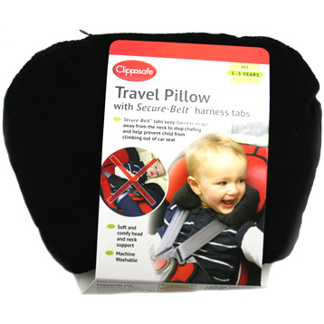 Secure-Belt Travel Pillow
