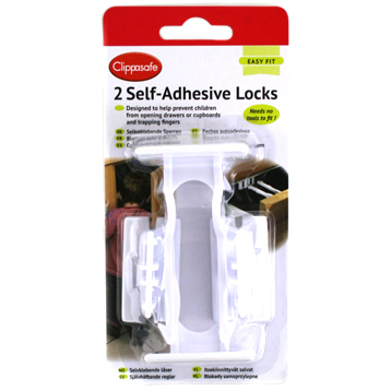 Self-Adhesive Locks
