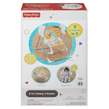 3-in-1 Swing 'n Rocker