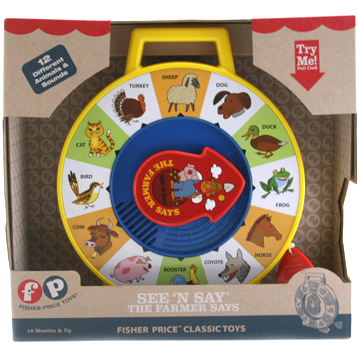 Classic See 'n Say The Farmer Says Animal Sound Toy