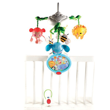 Fisher Price Twinkling Lights Projection Mobile