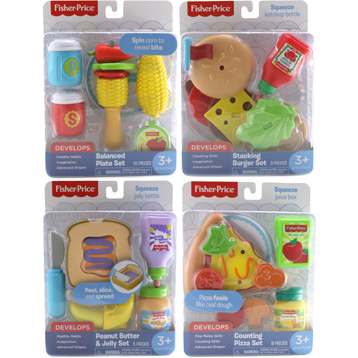 Early Learning Play Food Set