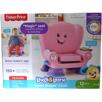 Laugh & Learn Smart Stages Pink Chair