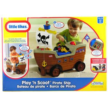 Play n Scoot Pirate Ship